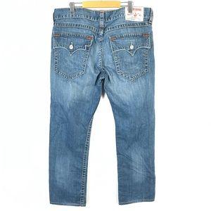True religion jeans straight 38x32